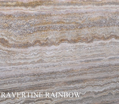 Travertino rainbow